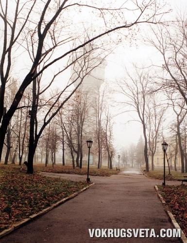 Глухов. Городской парк.