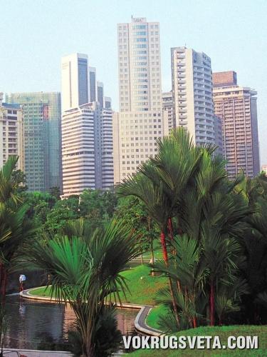 Вид из одной из гостиниц Лангкави