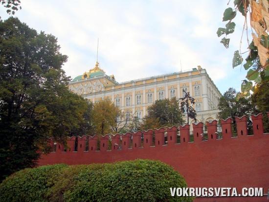 Вид на Кремль