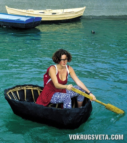 Отважная мореплавательница