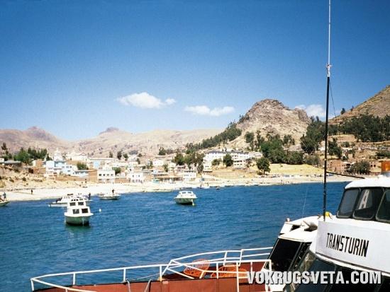 Порт города Копакабана