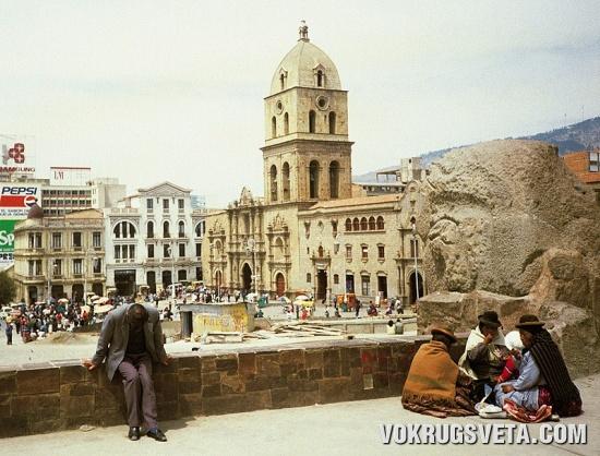 Ла-Паз, уличная архитектура
