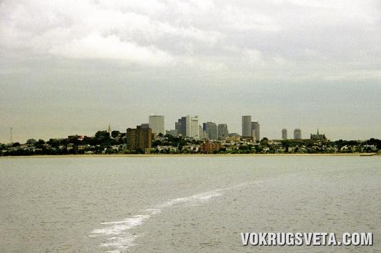 Вид на Бостон из Дорчестера