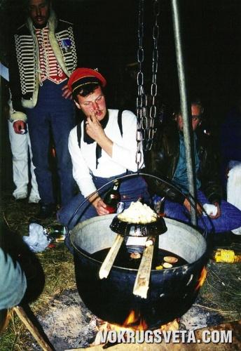 Приготовление гусарской жженки