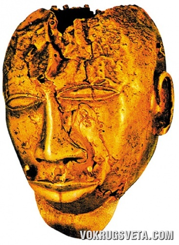 Золотая маска ашанти