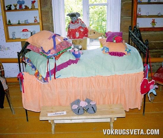 Мышиная спальня...