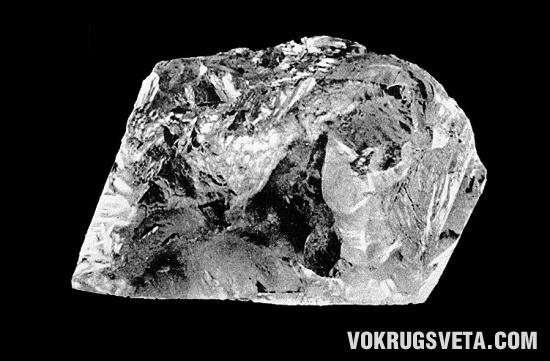 Крупнейший из алмазов — «Куллинан»