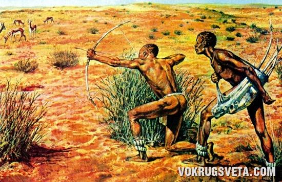 Охотники племени кхои-кхои