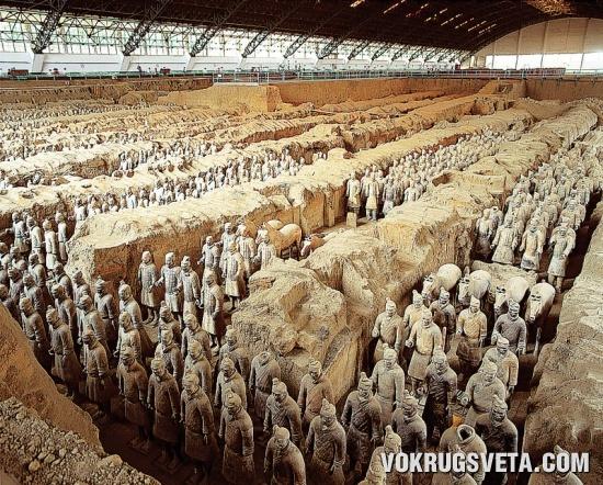 Терракотовая армия императора