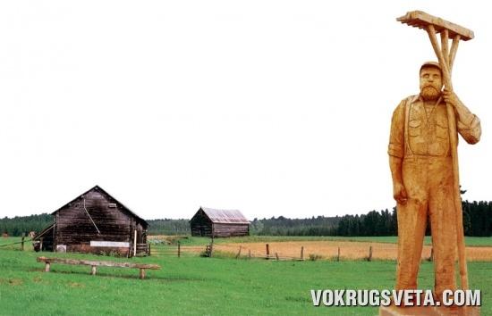 Фигура финского поселенца