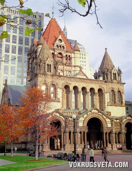 Старая церковь в Бостоне