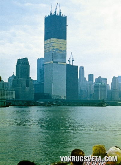 Строительство ВТЦ. 1970 г.