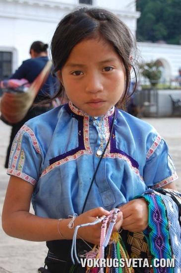 портрет мексиканской девочки