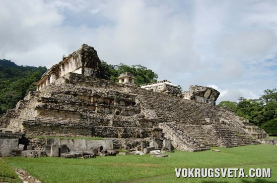 останки империй майя