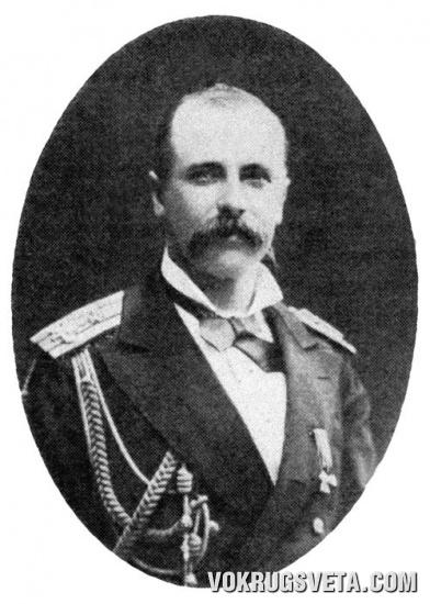 С. О. Макаров — командир парохода  «Великий князь Константин».