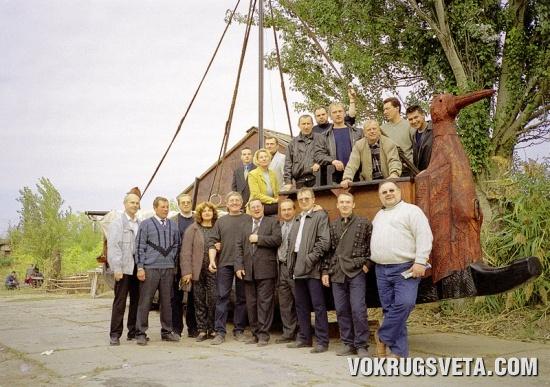 Коллектив Фонда исследований истории мореплавания