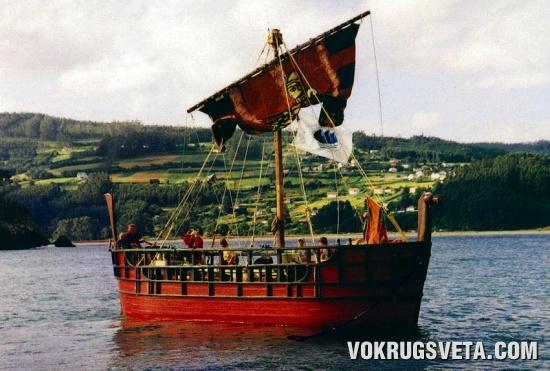 «Мелькарт» - копия финикийского торгового судна