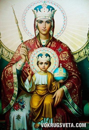 Икона Божьей Матери Державной
