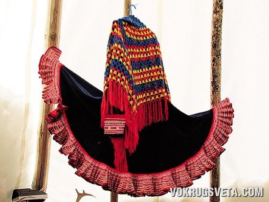 Саамский костюм