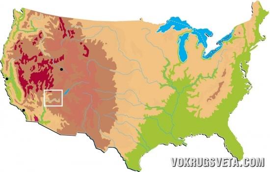 Район Больших американских каньонов