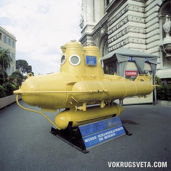 Прославленная субмарина  капитана Кусто