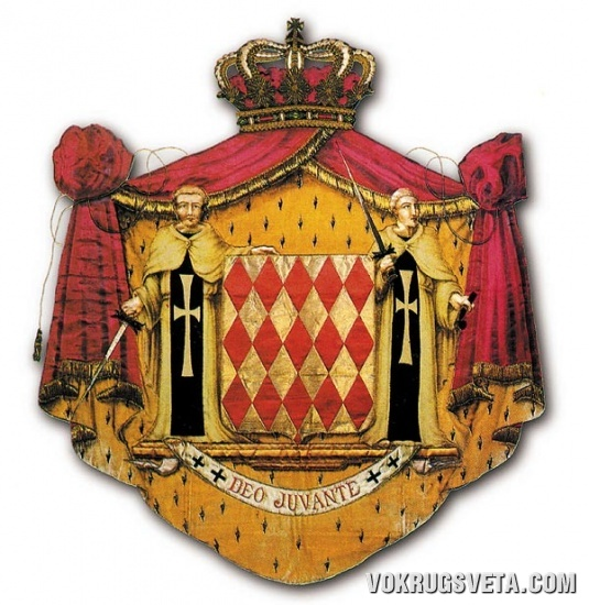 Герб княжеского рода Гримальди