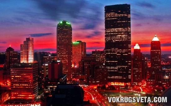 Ночной город 001