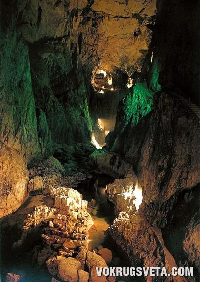 Подземный пейзаж