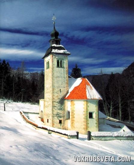 Картинки из Словении. Зима