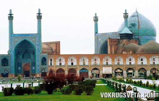 Дворец в Исфагане