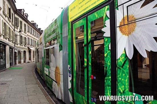 Швейцарский трамвай
