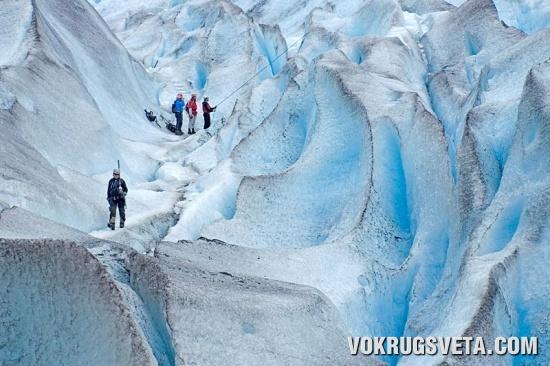 Бриксдальский ледник