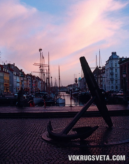 Старый портовый район Копенгагена