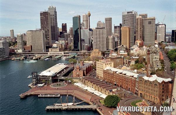Сити – деловая и торговая часть Сиднея