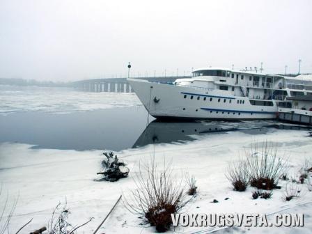 Зимний Днепр