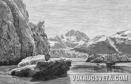 Глетчер на Аляске