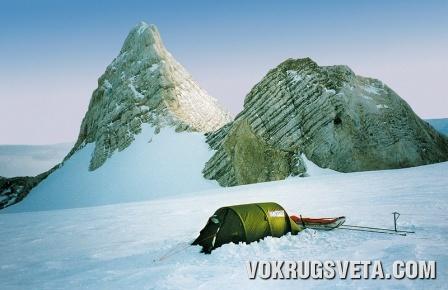 Палатка Марека Каминьского