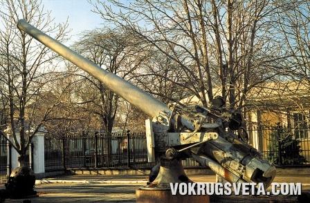 Орудие эсминца «Фрунзе»