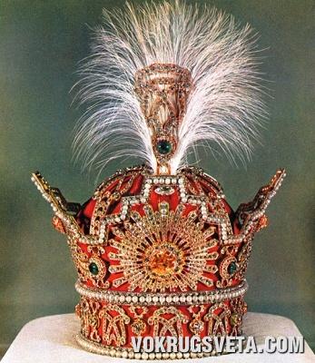Корона династии Пехлеви