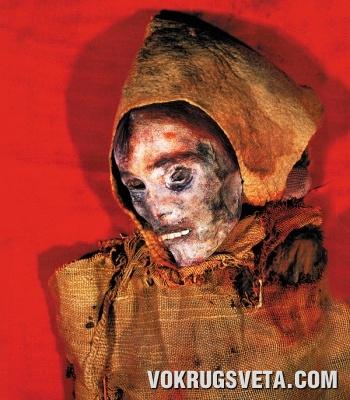 Мумия женщины близ озера Лобнор