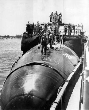 «Трэшер» (SSN-593) у причала в Портсмуте