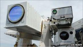Боевой лазер, способный топить корабли