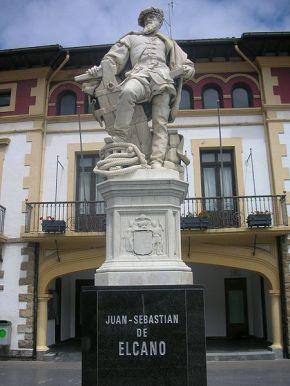 Памятник Элькано в Гетарии