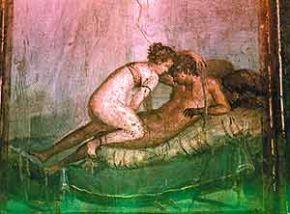 Фреска неизвестного мастера, сохранившаяся в разрушенных Помпеях