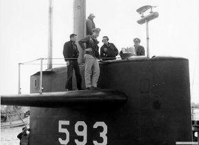 Члены команды (SSN-593)