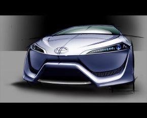 Водородный концепт-кар компании Toyota