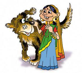 Как повезло индийской дворняге